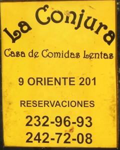 Restaurante La Conjura, Puebla, México