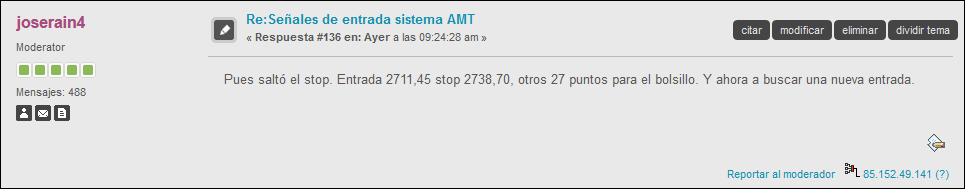 salida sistema market timing
